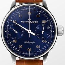 Meistersinger Chronograph Automatic new Paleograph Blue