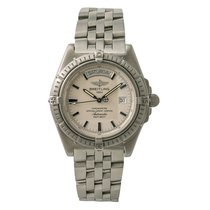 Breitling Headwind Steel 42mm Silver No numerals United States of America, New York, New York