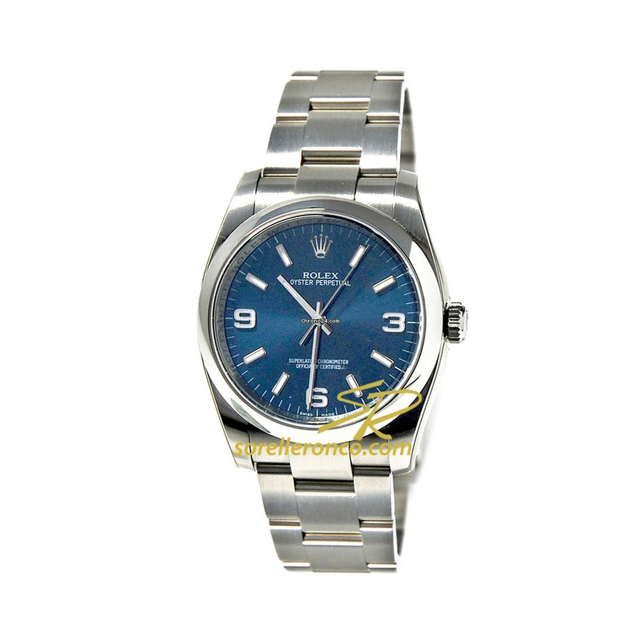 Rolex Oyster Perpetual 36mm Blue Index 369