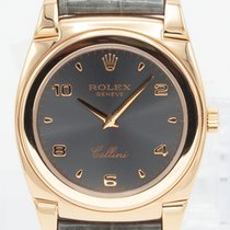 Rolex Cellini pre-owned White Leather