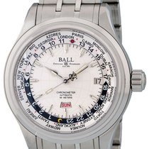 Ball Trainmaster Worldtime GM1020D-S1CAJ-WH 2010 new