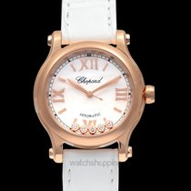 Chopard Automatic Mother of pearl 30.00mm new Happy Sport