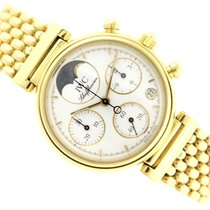 IWC 3735 Yellow gold Da Vinci Chronograph 29mm pre-owned