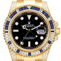 Rolex 116758SA Zuto zlato GMT-Master II 40mm rabljen