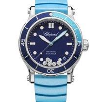 Chopard Happy Diamonds Stahl 40mm Blau