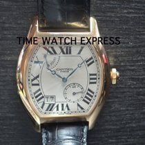 Cartier Tortue Rose gold 38mm Silver Roman numerals United States of America, New York, New York