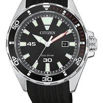 Citizen Steel 43.5mm Quartz BM7459-10E new
