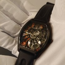 Claude Meylan Acero 40mm Cuerda manual Claude Meylan Tortue Rainbow 6047-NO nuevo