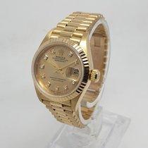 Rolex Lady-Datejust Жёлтое золото 26mm Золотой Без цифр