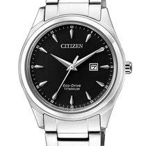 Citizen Titanium 34mm Black
