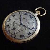 Cartier Uhr gebraucht 1920 Gelbgold 45mm Römisch Handaufzug Nur Uhr