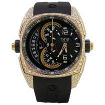Cyrus Klepcys Chronograph 5N Gold & Diamonds
