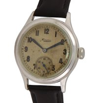 Minerva Steel 34mm Manual winding pre-owned United States of America, California, Los Angeles