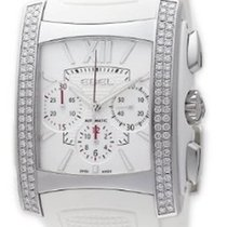 Ebel 1215785 Brasilia Chronograph with Diamonds - Steel on...