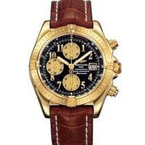 Breitling k1335611/b723-2CT Chronomat Evolution in Yellow Gold...