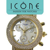 Chaumet Chronograph Rose Gold & Diamonds -Mother of Pearl Dial