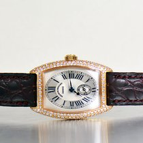 Franck Muller Cintree Curvex Rose Gold With Factory Diamonds