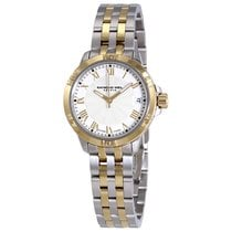 Raymond Weil Tango White Dial Ladies Two Tone Watch 5960-STP-0...