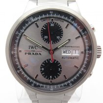 IWC For Prada 3708 Chronograph Stainless Steel Gents Watch...