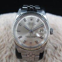 Rolex DATEJUST 1601 SS with Original Wide Boy NO LUME Dial