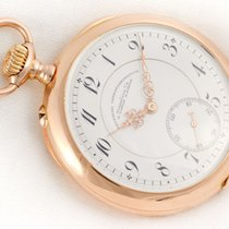 A. Lange & Söhne - rare pocket watch 14k solid yellow gold-...