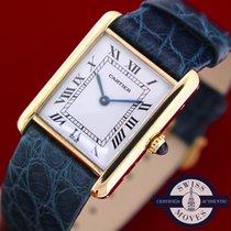 Cartier Tank Paris Vintage 18k Solid Gold Perfect Condition 24...