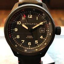 Hamilton 42mm Remontage automatique 2018 nouveau Khaki Aviation Noir