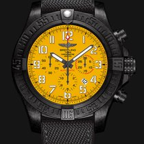 Breitling Avenger Hurricane 50mm Yellow Arabic numerals
