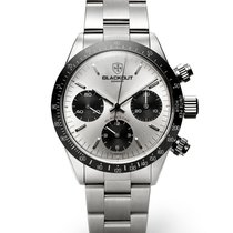 Black-Out Concept Chronograph 40mm Automatic 2018 new Silver