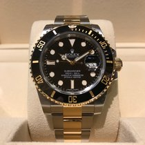 Rolex Submariner Date Steel and Gold B&P