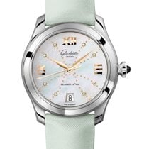 Glashütte Original Steel Automatic Mother of pearl Roman numerals 36mm new Lady Serenade