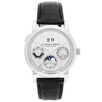 A. Lange & Söhne Langematik Perpetual 39mm Silver Roman numerals United States of America, Texas, Dallas