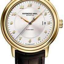 Raymond Weil 39.5mm Automatisk ny Maestro Sølv