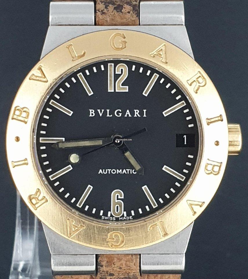 Bulgari Diagono Automatic 29MM Date Gold&Steel