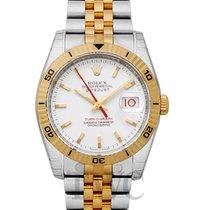 Rolex Datejust Turn-O-Graph neu Uhr mit Original-Box und Original-Papieren 116263 WH