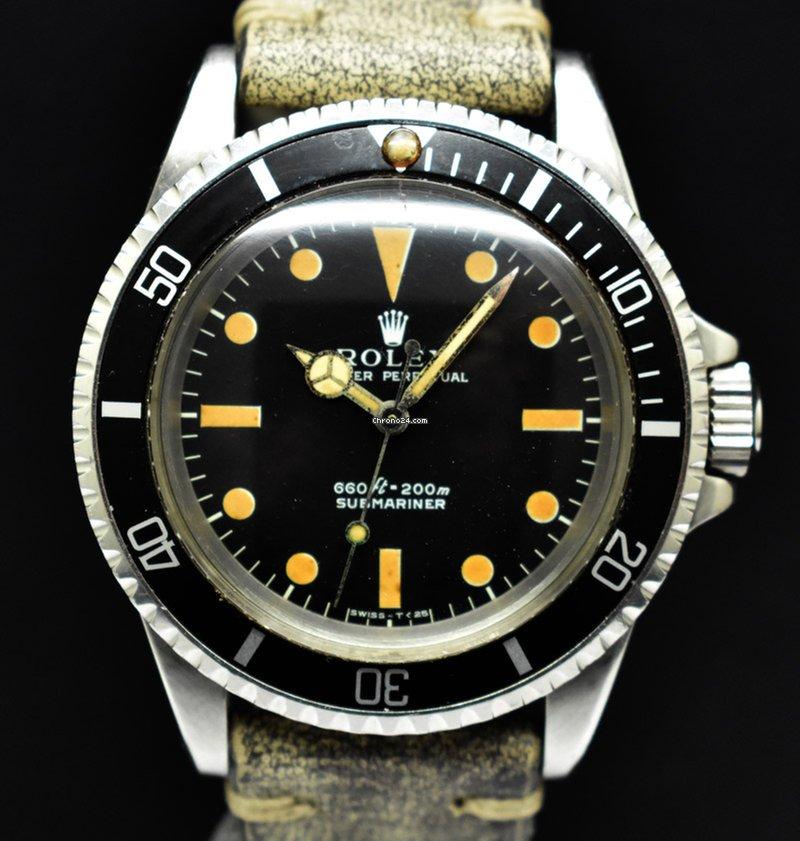 Rolex Submariner (No Date) Vintage 1972
