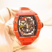 Richard Mille Karbon 49.9mm Automatisk RM35-02 FQ ny