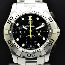 TAG Heuer Aquagraph Steel 42mm Black No numerals