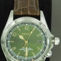 Seiko Spirit Steel 38mm Green Arabic numerals United States of America, New Jersey, Montville