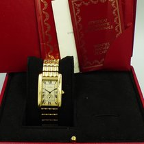 Cartier Tank Américaine Yellow gold 23mm White Roman numerals