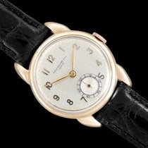Patek Philippe Vintage Rose gold 32.4mm Silver Arabic numerals