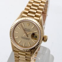 Rolex Lady-Datejust Yellow gold 26mm Champagne No numerals United States of America, California, Beverly Hills