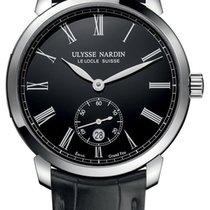 Ulysse Nardin Classico neu 2020 Automatik Uhr mit Original-Box und Original-Papieren 3203-136-2/E2