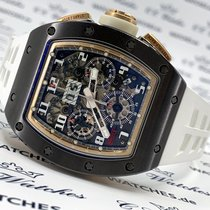 Richard Mille Ceramic Automatic Transparent 50mm pre-owned RM 011