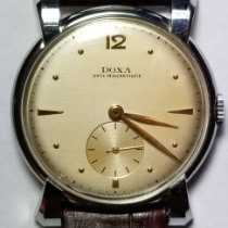 Doxa pre-owned Manual winding 34mm Gold Plastic
