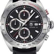 TAG Heuer Formula 1 Calibre 16 new 2014 Automatic Chronograph Watch with original box and original papers CAZ2010.FT8024