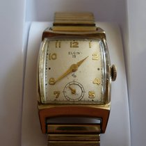 Elgin Gold/Steel 23mm Manual winding pre-owned