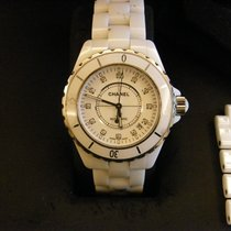 Chanel 38mm Automatic 2009 pre-owned J12 White