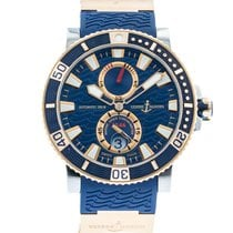Ulysse Nardin Marine 265-90-3/93 Watch with 18k Rose Gold,...