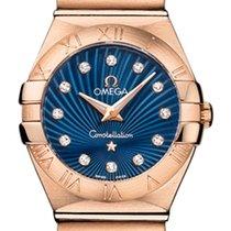 Omega Or rose 24mm Quartz Constellation nouveau
